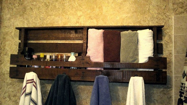 Pallet Towel Rack Future Home Pinterest Towels