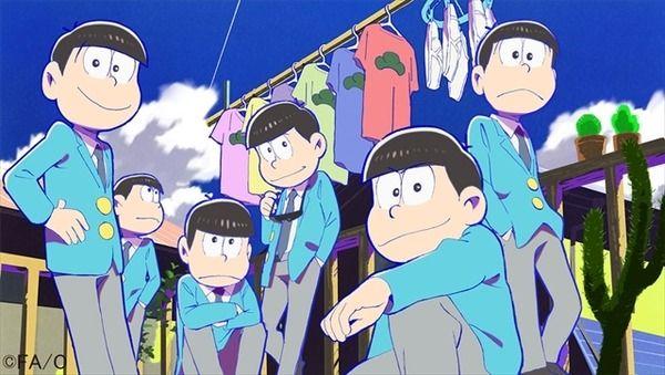 「おそ松さん」テレビアニメ化が決定 「おそ松くん」大人になった姿を描く   シネマカフェ cinemacafe.net