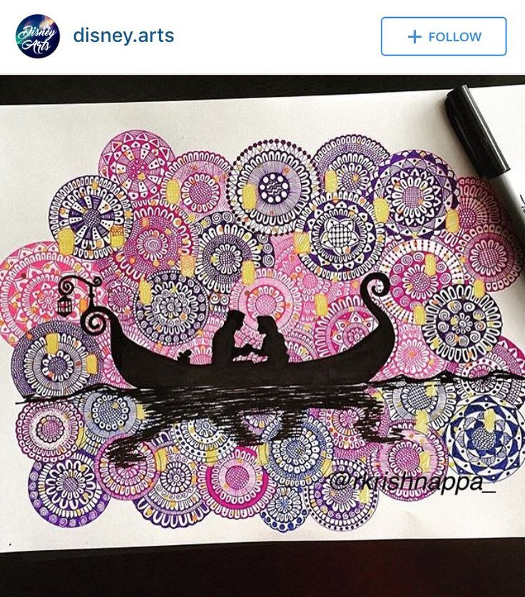 From @disney.arts on Instagram • Originally by @rkrishnappa_