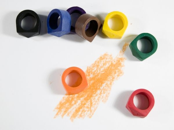 Crayon Rings (2009) by Timothy Liles