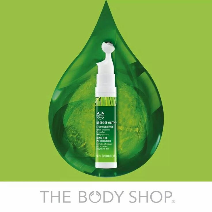 The Body Shop Eye Drops of Youth serum