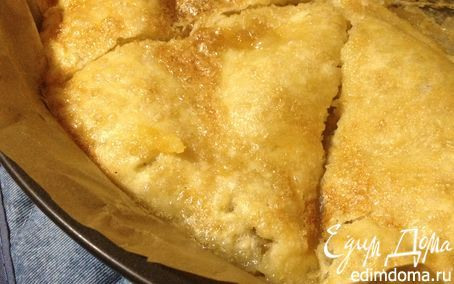 Идеальный яблочный пирог от Джейми - минимум теста и максимум начинки | Кулинарные рецепты от «Едим дома!»