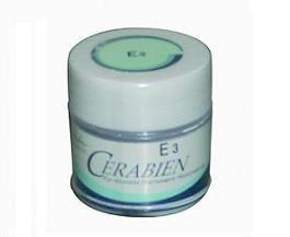 CERABIEN ALUMINA ENAMEL • Repuesto Frasco x 10 g • Cerámica sin metal para reproducir el esmalte y el color de la corona • Colores: E1, E2, E3 - Cod 33597