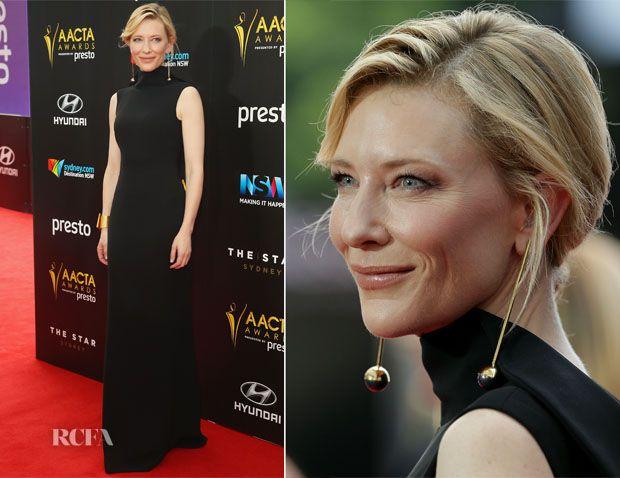 Cate Blanchett In Giorgio Armani - 2015 AACTA Awards