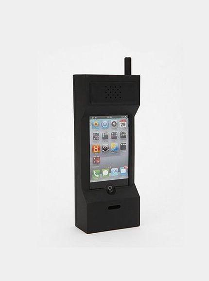'80s Cell Phone Case - Case de celular antigo para iPhone