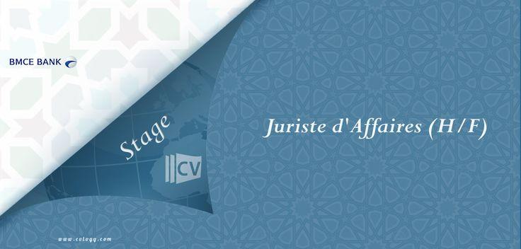 #BMCE #Capital : #Emploi de #Juriste d' #Affaires #stagiaire (H/F) à #Casablanca--->
