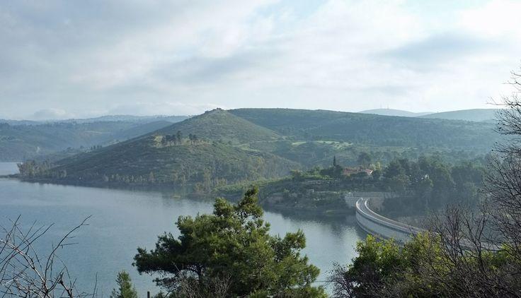 Marathon Dam and Lake