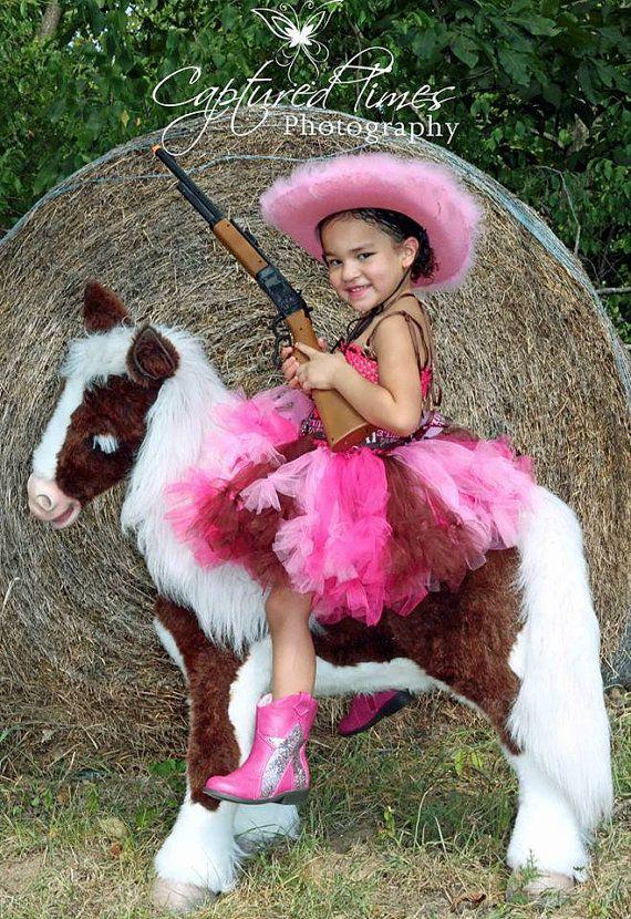 Western Tutu Cowgirl Costume COWGIRL Rule by JennasGarden