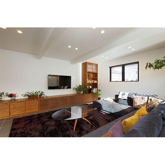 テレビ台の家具も設計