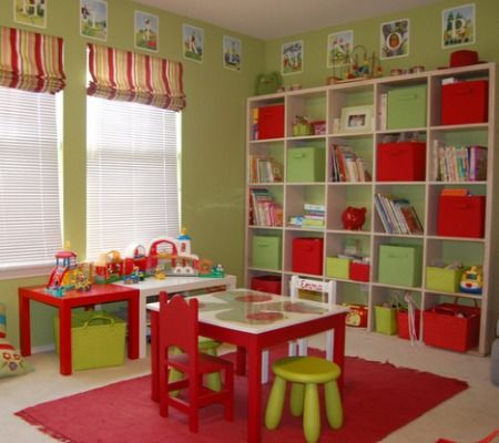 Playroom Design Ideas brown wood blackboard playroom design ideas pictures play ball pit fun bath balls orange polca dot sofa chair white wood clothes boxes colorful alphabet Find This Pin And More On Kids Playroom Ideas