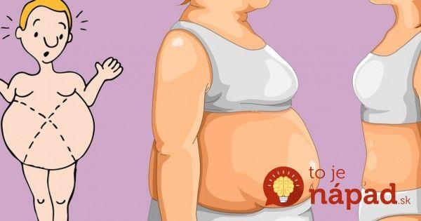 Nemôžete sa zbaviť tuku na bruchu napriek cvičeniu a zdravej strave? Možno robíte TÚTO chybu!