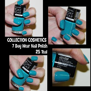 MichelaIsMyName: NOTD // COLLECTION COSMETICS 7 Day Wear Nail Polis...