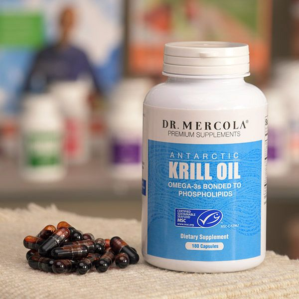 Echantillons GRATUITS de l'huile de Krill du Dr Mercola