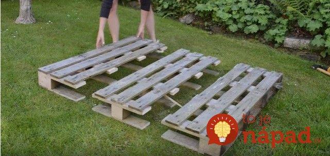 Ako premeniť vyradenú paletu na perfektnú vec do vašej záhrady? Inšpirujte sa tu: http://tojenapad.dobrenoviny.sk/vyradenu-paletu-rozdelila-na-3-casti-vyrobila-perfektnu-vec-do-zahrady/?utm_medium=social&utm_campaign=postplanner&utm_source=facebook.com#prettyPhoto/0/  #garden #pallet #diy #handmade #clever #idea #genius