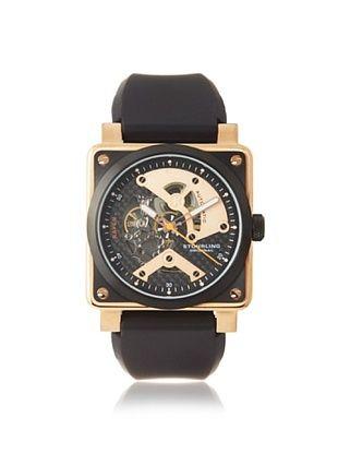 Stuhrling Men's 179A.334641 Raven Black/Rose Watch