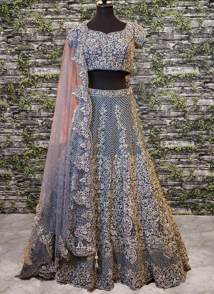 Heavy Work Wedding Wear Silk Lehenga Cholis Collection Catalog