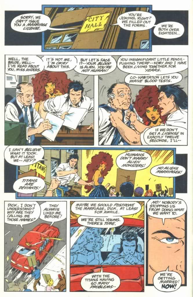 Dick + hot tub + comic