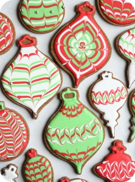 Christmas cookies II - Click image to find more Holidays & Events Pinterest pins
