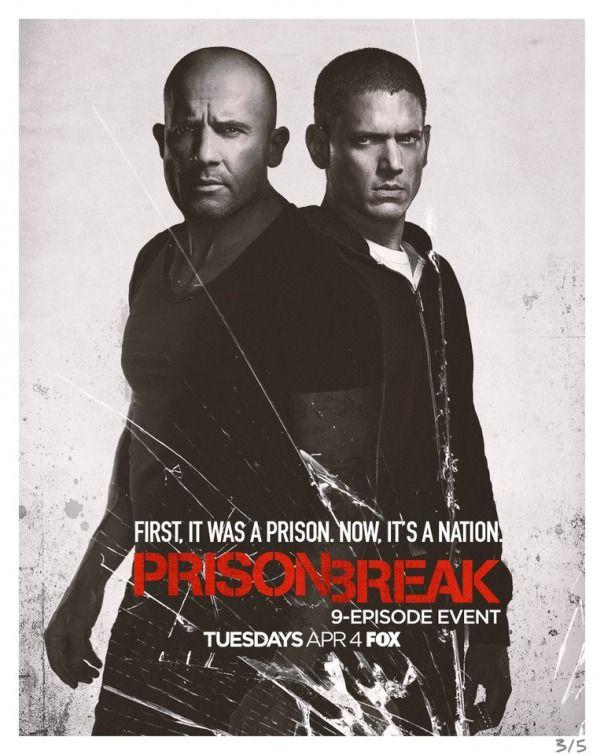 Lincoln e Michael estampam novo cartaz da temporada revival de 'Prison Break' | CinePOP