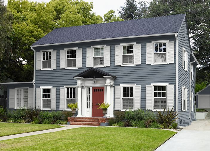 this is the project i created on behr com i used these on behr exterior house paint photos id=43887