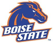 Boise, Idaho, here I come (Boise State vs. Wyoming College Football Game)  Good morning everyone, happy Friday!  I'm going to assume that 99.9% of you don't care about Boise State Football or have ever been to Boise, Idaho.  For whatever reason, I have been a big fan of Boise State for the last few years, even though I never went to school there and I don't know anyone who lives in Idaho.  Maybe the bright blue turf football field has something to do with