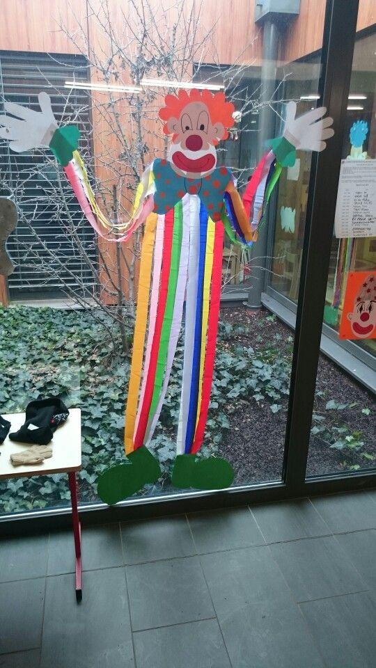* Clown voor carnaval/circus!