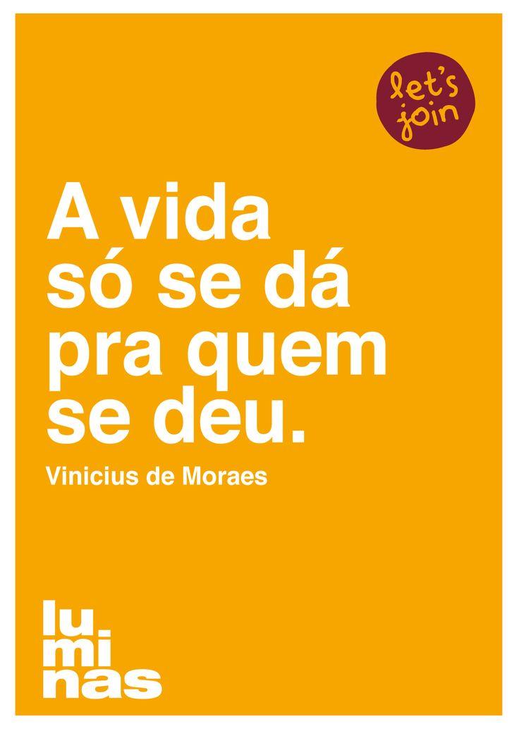 Poster em homenagem ao dia da MPB e ao aniversário de Vinicius de Moraes