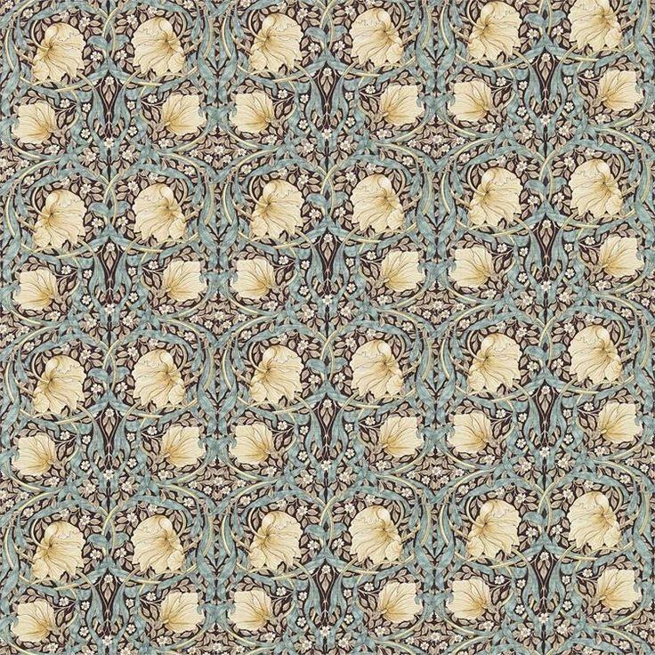 Engelska Tapetmagasinet - tyger - William Morris - Pimpernel