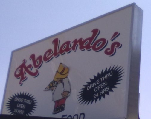 Abelardos- abodaba burritos.