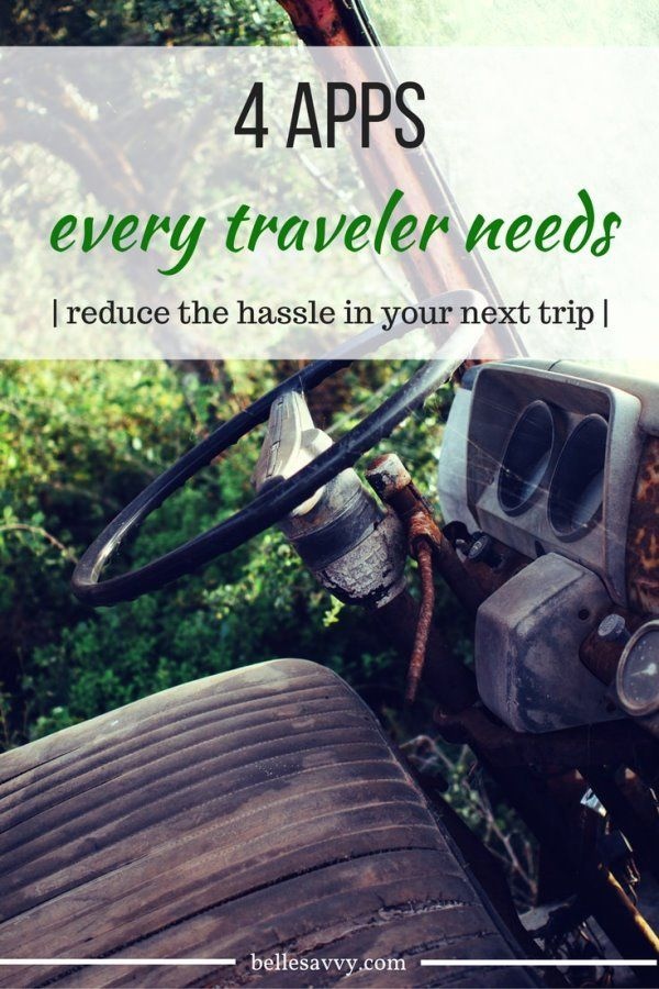 Manage your next trip simply and effeciently with these four apps to reduce travel hassle | BelleSavvy Digital Life
