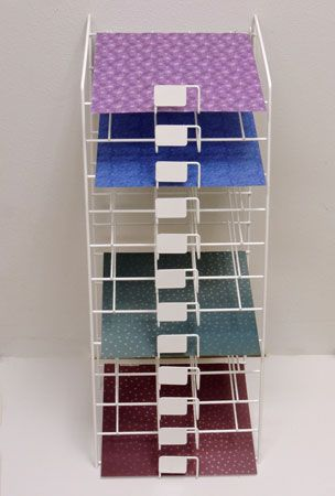 Wire Rack For Paper Storage And Vinyl 12x12 Sheets Craft