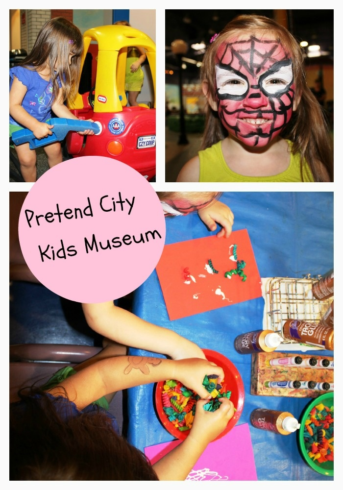 Kid museums in California. Pretend City!
