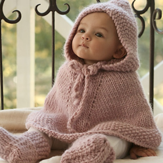 Baby poncho! @Lindsey Thorpe you must make me this for my baby girl (when I get one....)