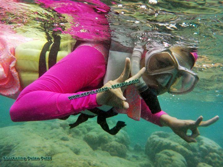 Snorkeling Pulau Putri