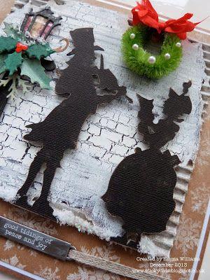 That's Life: Christmas Carols...http://stickydots.blogspot.co.uk/2013/12/christmas-carols.html