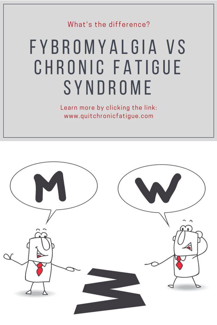 fibromyalgia vs chronic fatigue syndrome what\u0027s the differencefibromyalgia vs chronic fatigue syndrome what\u0027s the difference? health and wellness pinterest chronic fatigue, chronic fatigue syndrome and