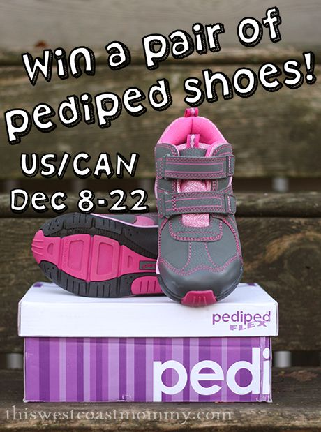 Win a pair of pediped shoes! (US/CAN, 12/22)