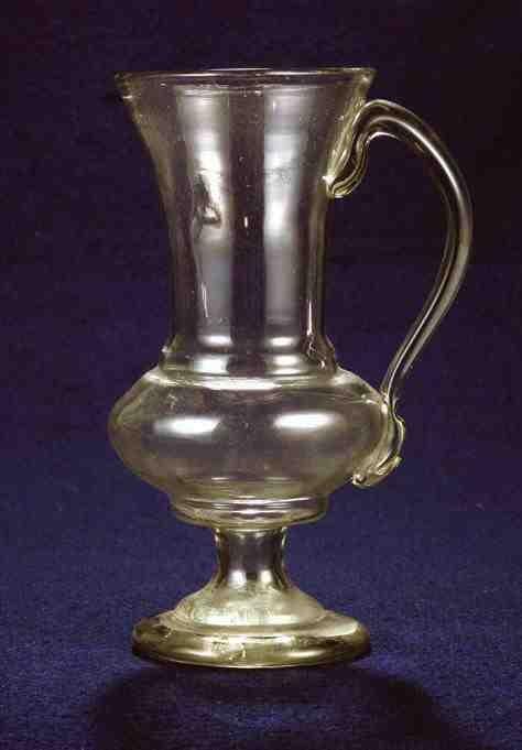 Glass from Kingdom of Hungary / Transylvania, end of 18th century. Ottó Herman Museum, Miskolc, Hungary.