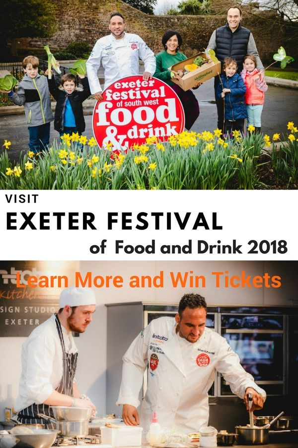 Exeter festival of Food and Drink is a celebration of West