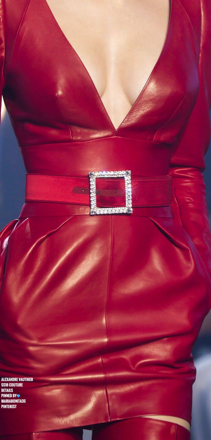 Alexandre Vauthier SS18 Haute Couture Details