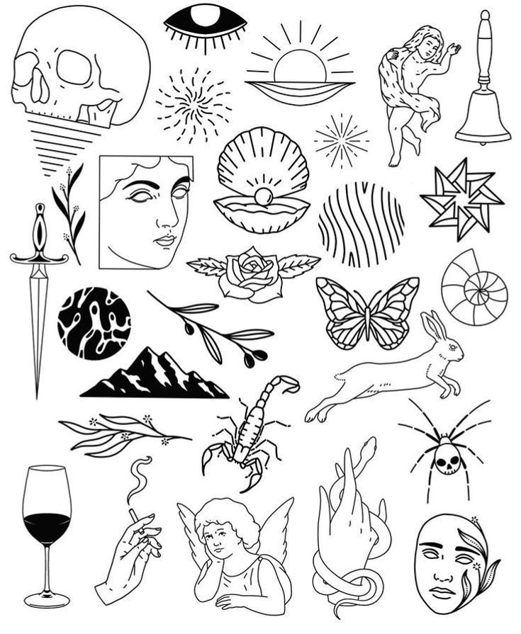 Desenhos De Tattoo Old School Flashs De Inspiracao
