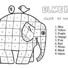 22 best elmer images on Pinterest  Cupboards Colors and Illustrators