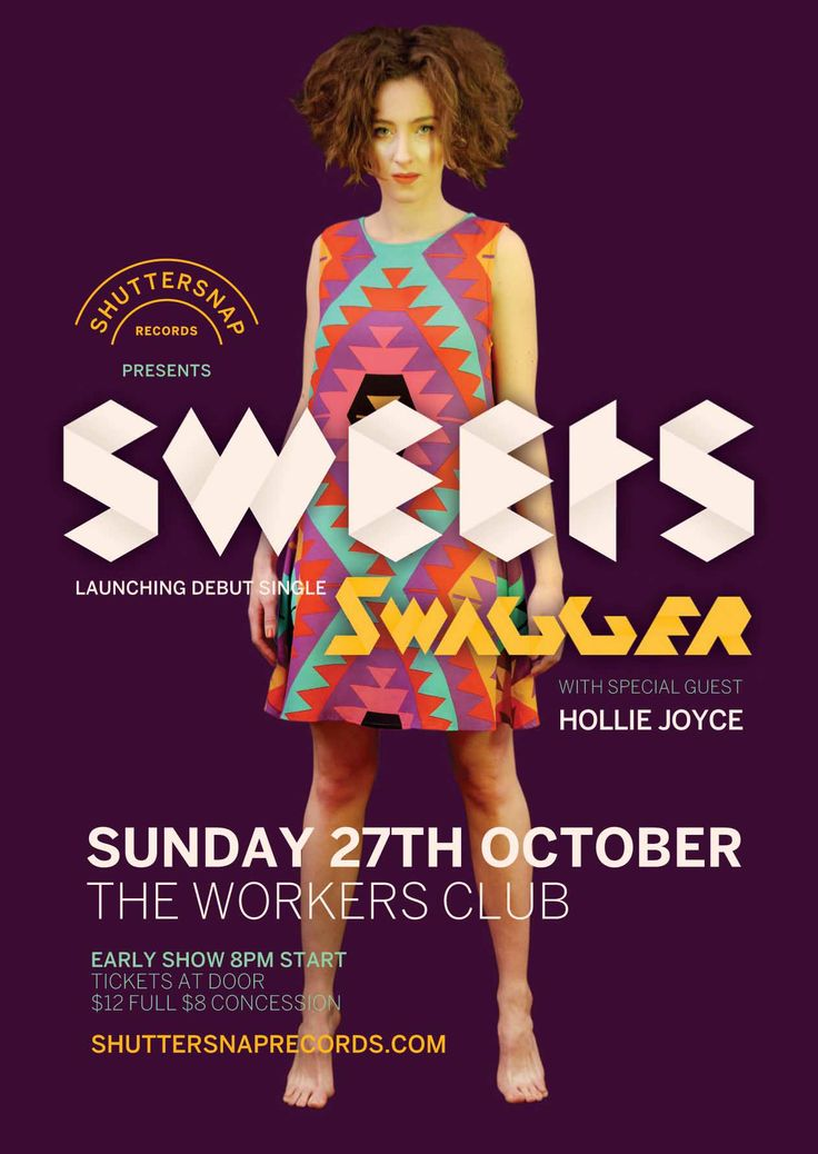 Sweets Launch Poster