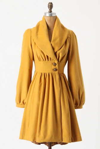 Ruched coat