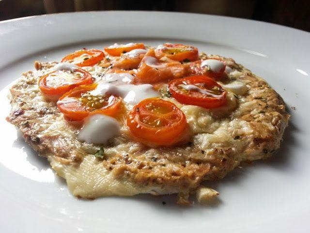 mi reflejo de la 48 a la 36: Pizza Fitness (segunda receta)