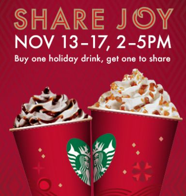 Rise and Shine November 13 – Address label sale, HOT deal on girls BOGS, Starbucks BOGO drinks and more