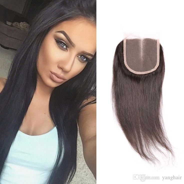 Virgin Human Hair Closure Free Middle 3 Part Brazilian Lace Closure Bleached Knots,Brazilian Straight Closure Tangle Free Online with $39.97/Piece on Yanghair's Store | DHgate.com