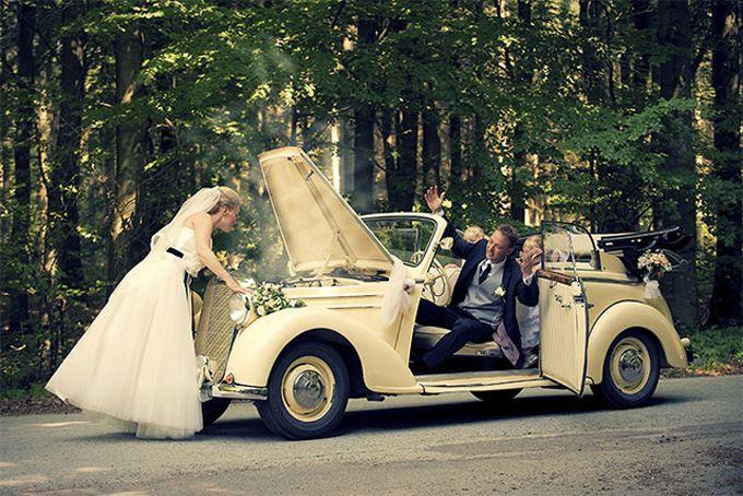 Foto criativa casamento