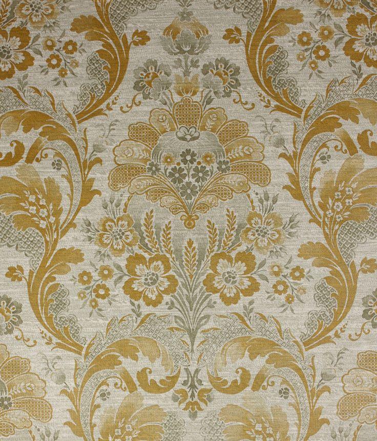 Combineer #behang in #barok sferen met neutrale meubelen.