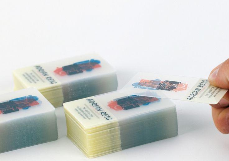 Tarjetas PVC Transparente   Tarjetas Publicitarias a todo color